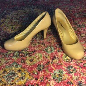 Steve Madden Shoes - Madden Girl: Nude heels